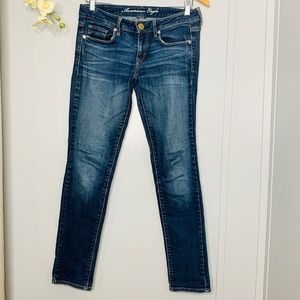 American Eagle Stretch Skinny Jeans 6short